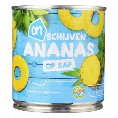 Huismerk Ananasschijven op sap