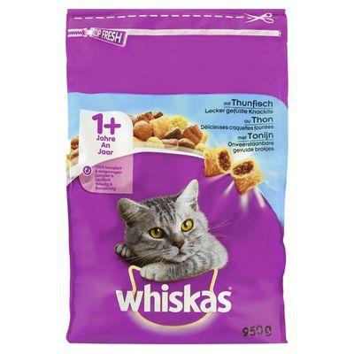 Whiskas Met Tonijn 1+ Jaar