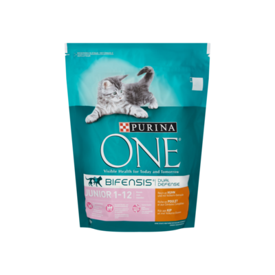 Purina ONE Bifensis Dual Defense Junior 1-12 Maanden Kip