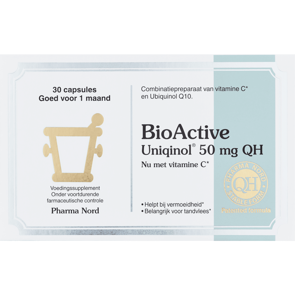 Pharma Nord BioActive Q10 Uniqinol 50 mg Capsules