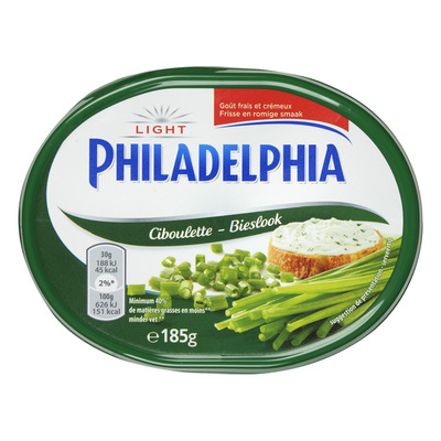 Philadelphia Roomkaas bieslook light