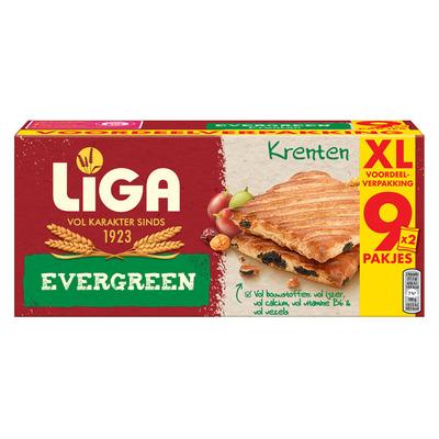 Liga Evergreen biscuits krenten XXL