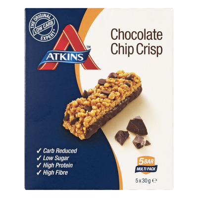 Atkins Chocolate chip crisp