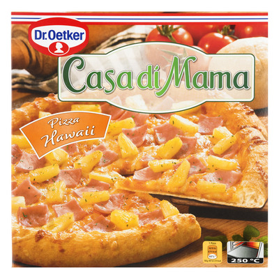 Dr. Oetker Casa di Mama pizza Hawaii