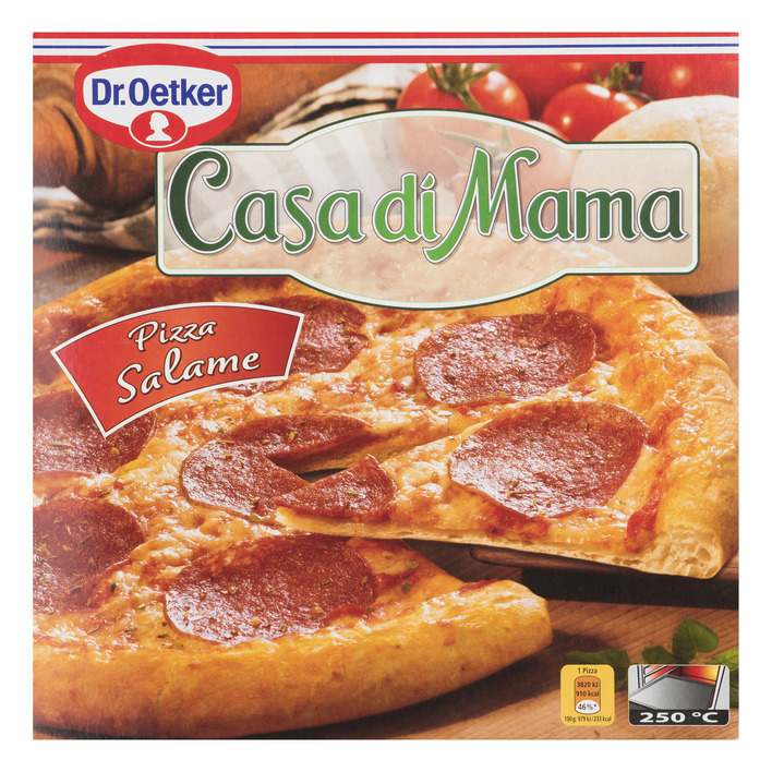Dr. Oetker Casa di Mama pizza salame
