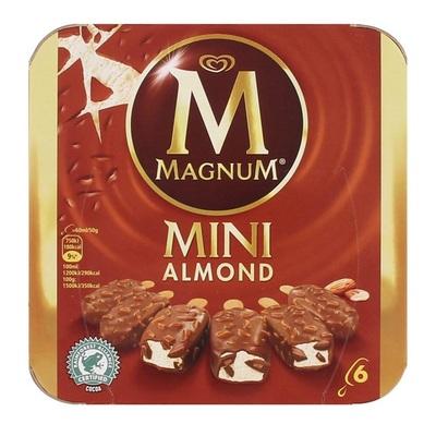 Ola Magnum ijs mini white & white almond