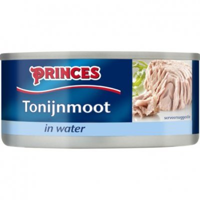 Princes Tonijn moot in water