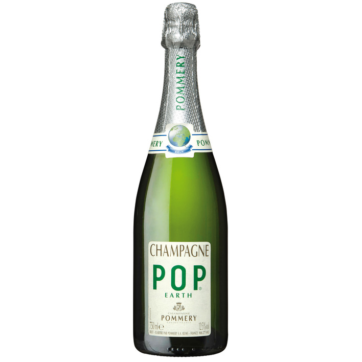 Pommery Champagne pop earth