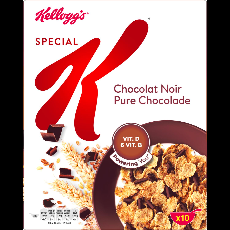 Kelloggs Special K chocolade-puur