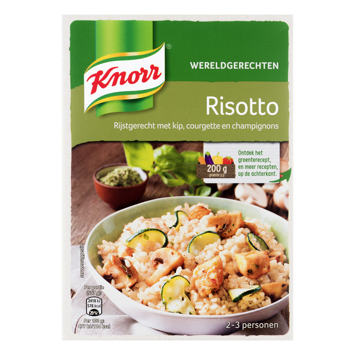 Knorr Wereldgerechten risotto