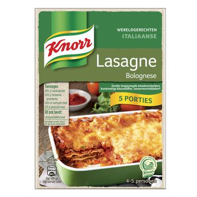 Knorr Wereldgerechten lasagne xxl