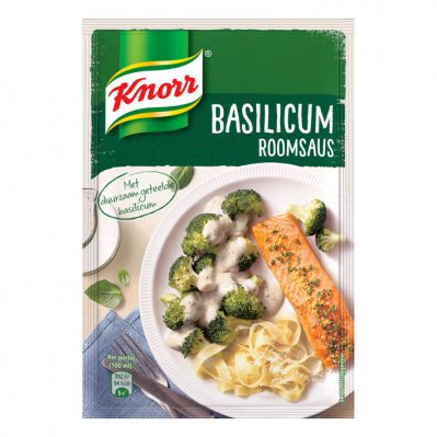 Knorr Mix roomsaus basilicum