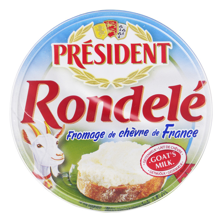 Président Rondelé fromage de chèvre