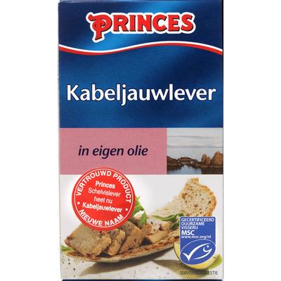 Princes Kabeljauwlever