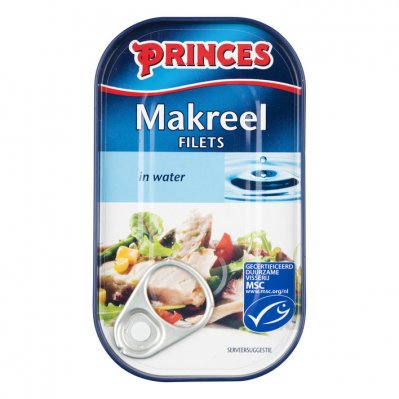 Princes Makreel in water