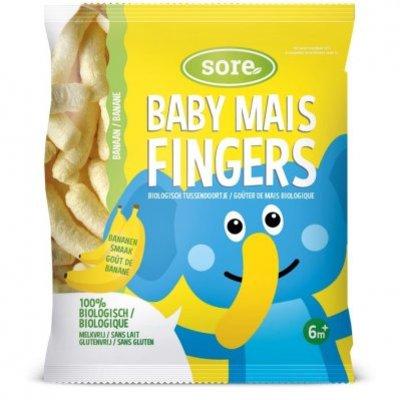 Sore Baby maisfingers banaan