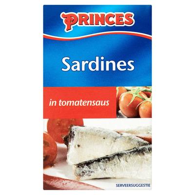 Princes Sardines in tomatensaus