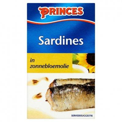 Princes Sardines zonnebloemolie