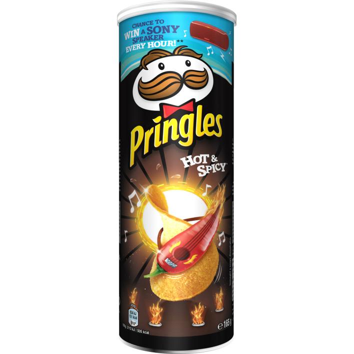 Pringles Hot & spicy