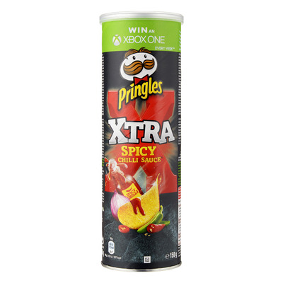 Pringles Xtra spicy chili sauce