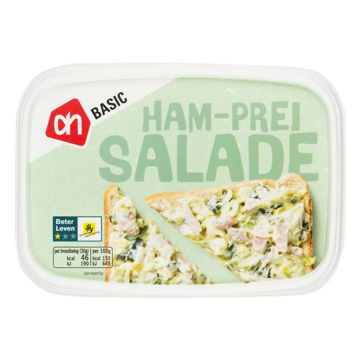 Budget Huismerk Ham prei salade