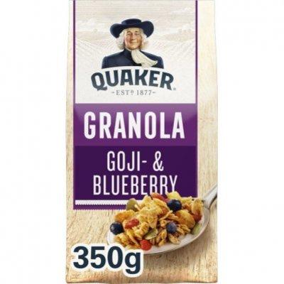 Quaker Havermout crunchy muesli goji&blauwe bes