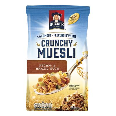 Quaker Havermout crunchy muesli met noten