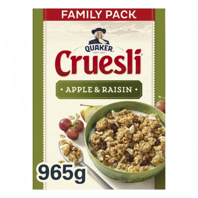 Quaker Cruesli appel & rozijn