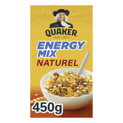 Quaker Cruesli Energy mix naturel