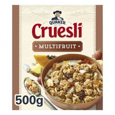 Quaker Cruesli multifruit