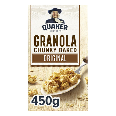 Quaker Havermout granola naturel