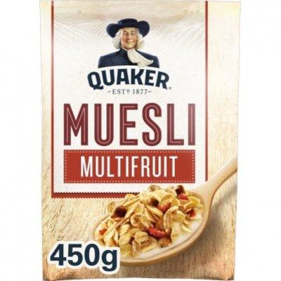 Quaker Havermout muesli multifruit