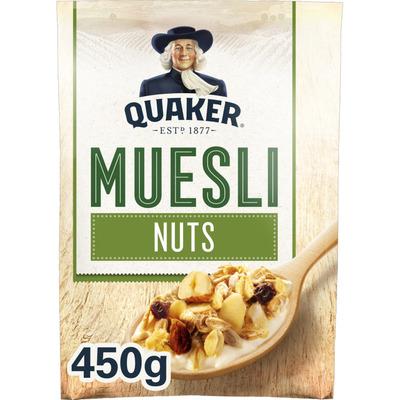 Quaker Havermout muesli noten