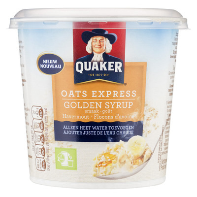 Quaker Oats express havermout golden syrup