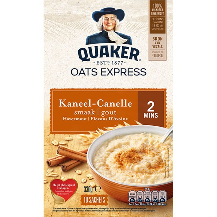 Quaker Havermout kaneel
