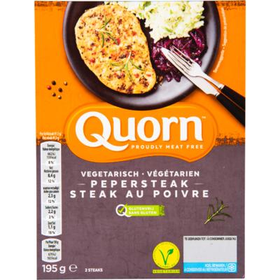 Quorn Vegetarische steak met peper