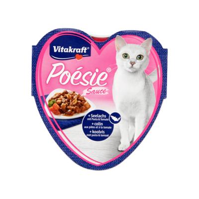 Vitakraft Poésie Sauce Koolvis met Pasta & Tomaat