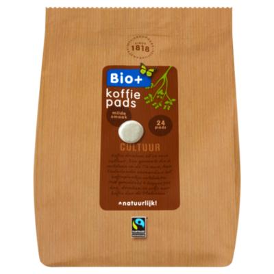 Bio+ Koffiepads Dutch Roast  Fairtrade