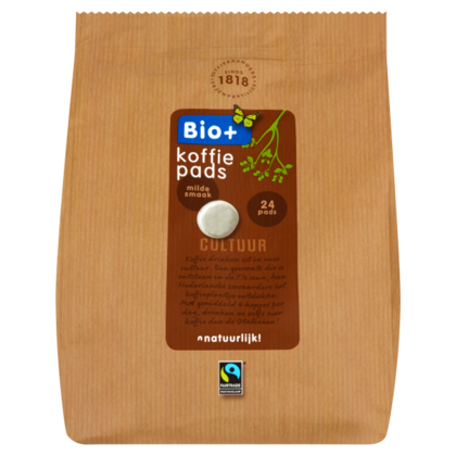 Bio+ Koffiepads Dutch Roast  Fairtrade