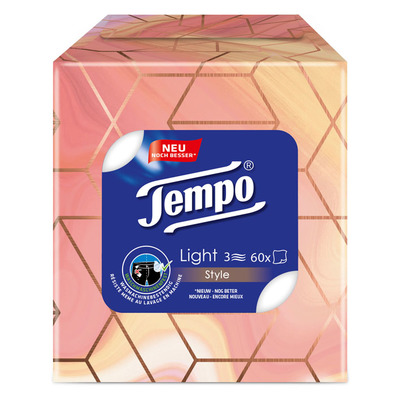 Tempo Zakdoekjes light 3-laags