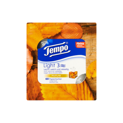 Tempo Light Cube 3-Laags Tissues
