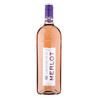 Grand Sud Merlot Rose Wine