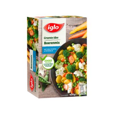 Iglo Groente-Idee Boerenmix met Gele Wortel & Peterselie