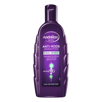 Andrélon Shampoo for men cool sport menthol