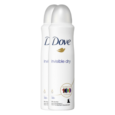 Dove Invisible Dry Deodorant Spray