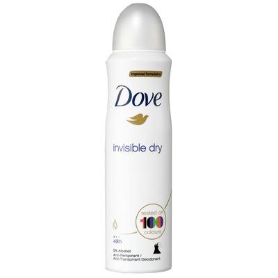 Dove Deodorant spray invisible dry