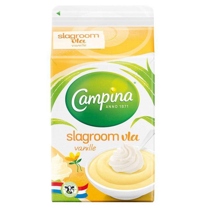Campina Slagroomvla vanille