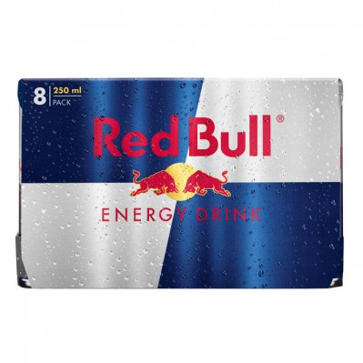 Red Bull Regular 8 pack