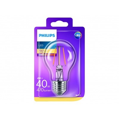 Philips Led classic 40W A60 E