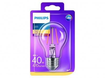 Philips Led classic 40W A60 E